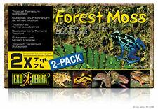 EXO Terra Forest Moss 2 X 7 Litres PT3095