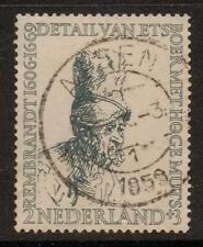 Paesi Bassi sg826 1956 2c+3c Slate BENE USATO