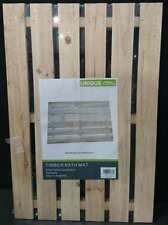 New Timber Bathroom Mat Wooden Rack Bath Mat Slat Timber Pool Shower Outdoor