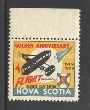 Canada Mint Cinderella 1959 Nova Scotia Flight Anniversary for Stamp Collection