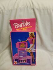 Vintage Barbie Home Entertainment Center 1993 Brand New In Sealed Box