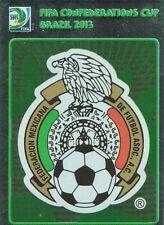 PANINI 82 LOGO EMBLEMA Mexico confed cup 2013 Brasile