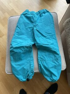 Kaxs Rain /snow /wind Trousers Swedish Brand, Super Quality Size 128/named