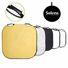Selens 5-in-1 40 Inch Square Reflector w/Handle for Photography Photo Studio 1C