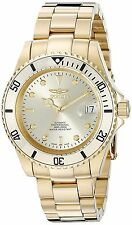 Invicta Mens Pro Diver Swiss Made Sellita SW200 Auto Gold Tone Bracelet Watch