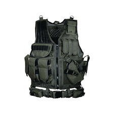 NEW UTG 547 Law Enforcement Tactical Vest Black PVCV547BT