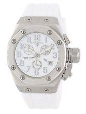 Swiss Legend 10535-02-SA Women's Trimix Diver Chronograph Watch White New in Box