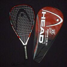 Head Photon 220 Xl Pyramid V Racquetball Raquet 3 7/8 Grip Includes Cover #7127