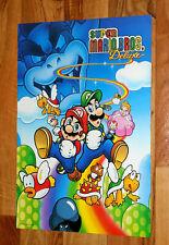 1999 Super Mario Bros. Deluxe Star Wars Episode I Racer Poster Nintendo 44x30cm