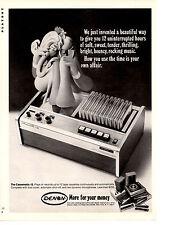 1970 DENON CASSEMATIC-12 ~ ORIGINAL PRINT AD