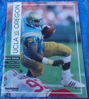 College Football Game Program UCLA Bruins vs Oregon Ducks November 11 1989 NCAA