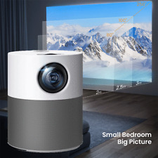 More details for victsing portable mini projector 3d hd led home theater cinema 1080p av usb hdmi