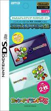 2 x Super Mario Yoshi Princess Peach Sticker DS Lite
