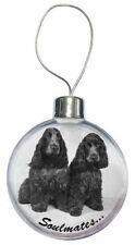 Décorations de sapin de Noël boules bleus