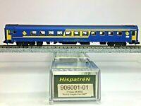 HISPATREN 906001-01 Coche 1ª AA-9002 RENFE Escala N + Kit mejora instalado