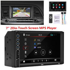 "7"" HD Touch Screen Car Radio Stereo Bluetooth 2Din FM/USB Aux Input MP5 Player"