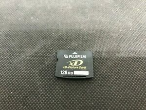 FujiFilm 128 mb  xD Digital Camera Picture Memory Card Tested Formatted