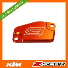 COUVERCLE MAITRE CYLINDRE FREIN AVANT ORANGE KTM 65 85 105 SX FREERIDE SCAR