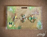 2020 Disney Minnie Mouse Main Attraction Limited Release Tiki Room Pin Set NWT