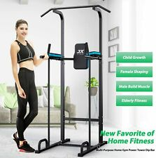 Power Tower Adjustable Dip Station Pull up Bar Push Up Workout 2 DAYS DELIVERY!!