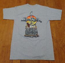 #2610-8 Hard Rock Café Mexico 2000 The Evolution Of Rock 2-Sided Graphics Tee M
