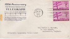 First day cover, Sc #924, Planty, 924-13, Grimsland, Censorship permit, 1944