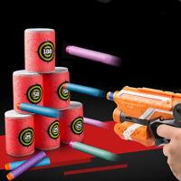 6Pcs/set Soft EVA Bullet Target Gun Dart Shoot For N-Strike Blaster Kid Toy