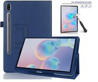 "Slim Folding Case for Samsung Galaxy Tab S6 T860 T865 10.5"" FREE Glass Protector"