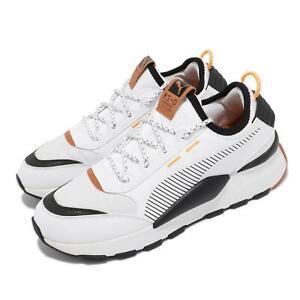 Puma RS-0 Trail White Black Orange Men Casual Lifestyle Running Shoes 371829-01