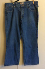 Women's Steve & Barry's Straight Leg Blue Denim Jeans Size 16 Short