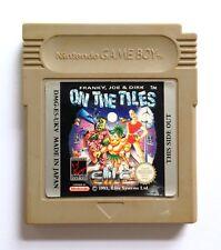 RARE Frankie Joe & Dirk On The Tiles Nintendo Gameboy Cartridge w/ Plastic Case