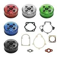 Gasket Set&CNC Cylinder Head 80cc Motorized Bicycle Bike Motor Engine Quality