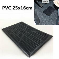 1Pcs Black PVC Rubber Car Floor Carpet Mat Patch Foot Heel Plate Pedal Cover Pad