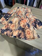 Guess Pink Floral Tropical Dress XS