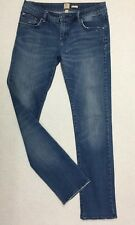 "RIP CURL 'Pipes' Women's Jeans size 11 Blue Denim waist= 31"" Stretch Ladies"