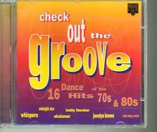 Check Out The Groove CD Dance Hits 70s & 80s 1995 UK Import Jocelyn Brown Rare