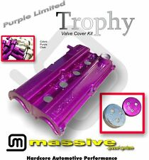 MSS Trophy Engine Cam Valve Cover Kit Focus Zetec 2.0 Contour w SS Hardware Cap