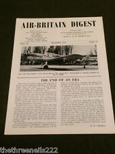 AIR BRITAIN DIGEST - DEC 1963 VOL 15 # 12 - THE CONVAIR LINER
