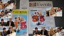NEW 9 to 5 Signed CD Broadway Original Cast Playbill Hilty Janney Block Kudisch