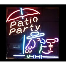 Patio Party Neon Bar Sign - Free Shipping!