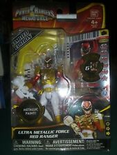 Power Rangers Megaforce - Ultra Red Ranger - 100% Complete