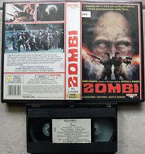 VHS - ZOMBI (Di Dario Argento) = PLAYTIME = 1985 = EX NOLEGGIO = RARISSIMO