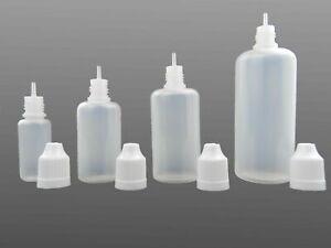 10ml, 30ml, 50ml, 100ml Liquidflaschen, Dropper Bottle, Tropf Flasche leer
