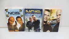 NCIS Los Angeles LA Seasons 1 2 3 DVDs Lot  Dvd