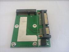 "Mini mSATA zu 2,5"" SATA Adapter – halbe Bauhöhe + NEU + [A1]"