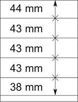 Lindner 802512 T-Blanko-Blätter