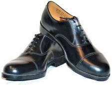 More details for british army parade shoes black leather raf air cadet uniform military surplus