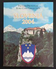 SLOVENIA /  2004 EURO PREUVE / EUROPROBEN / PATTERN SET avec 8 MONNAIES -