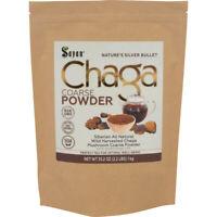 Siberian Chaga Mushroom Coarse Powder Tea 2.2 lbs/1Kg Organic Raw Wild Harvested
