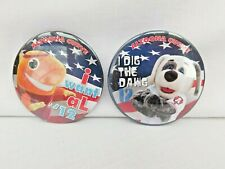 Altoona Curve AL TUNA and DIESEL DOG Election Pins 2012